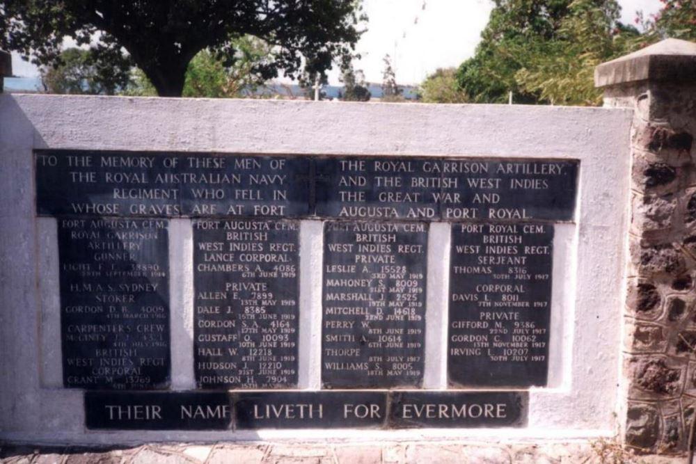 Kingston (Up Park Camp) Memorials