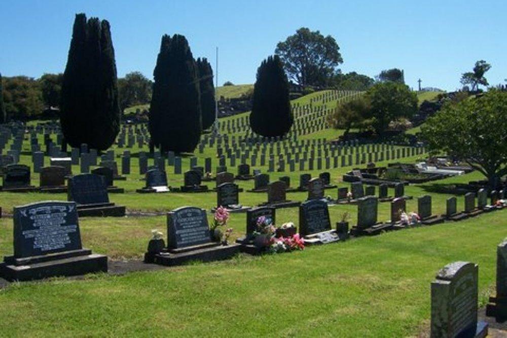 Oorlogsgraven van het Gemenebest Te Henui Cemetery