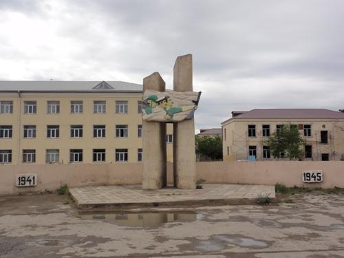Oorlogsmonument Qobustan