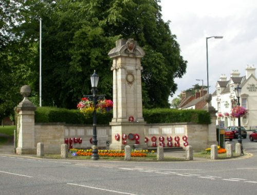Oorlogsmonument Wellingborough