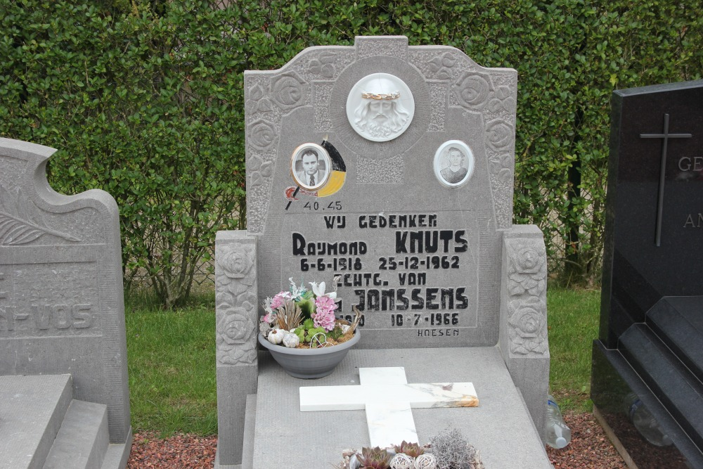 Graven Oudstrijders Alken Sint-Joris