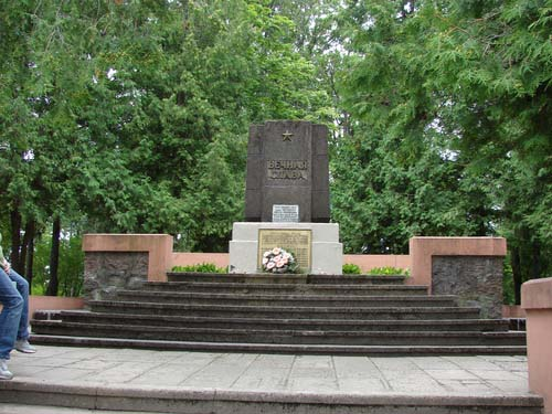 Solvjet Oorlogsbegraafplaats Rēzeknē