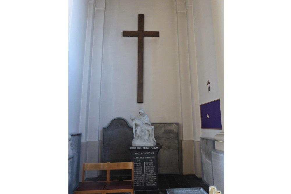 Gedenkteken Kerk Zedelgem