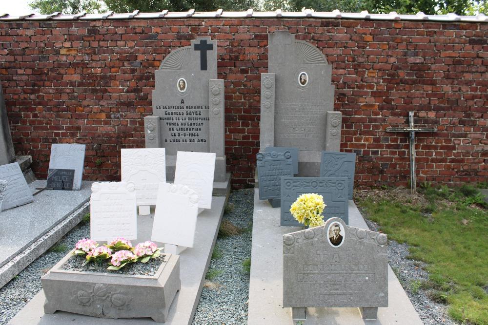Belgian War Graves Chapelle-à-Wattines
