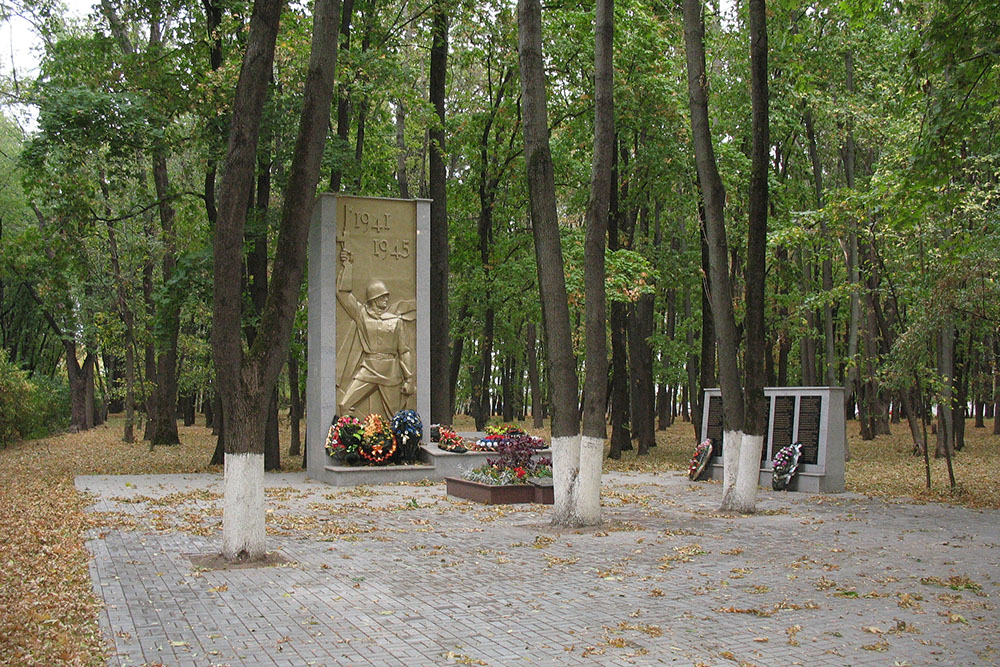 Mass Grave Soviet Soldiers No. 18