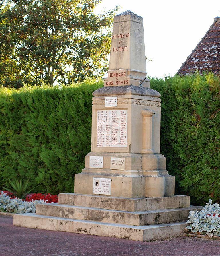 War Memorial Saint-Hilaire-les-Andrésis
