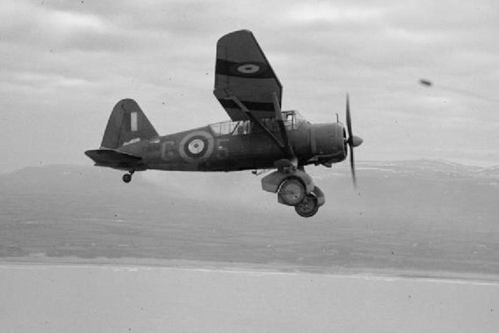 Crash Site Westland Lysander Mk IIIa V9367