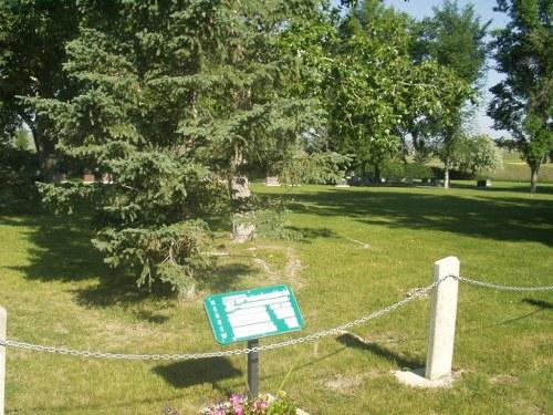 Commonwealth War Grave Lethbridge Hebrew Cemetery