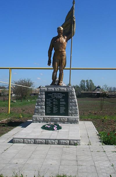 Mass Grave Soviet Soldiers Kutuzivka