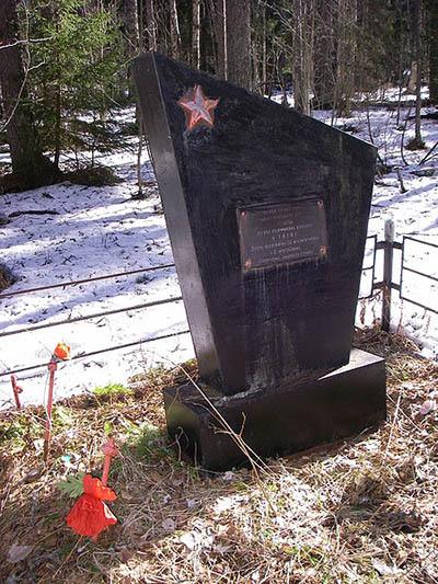 Mass Grave Bolsheviks Kiryasalo