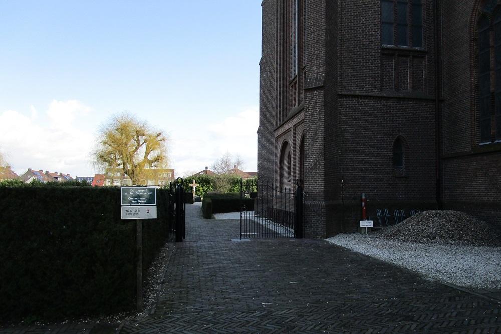Oorlogsgraven Schalkwijk