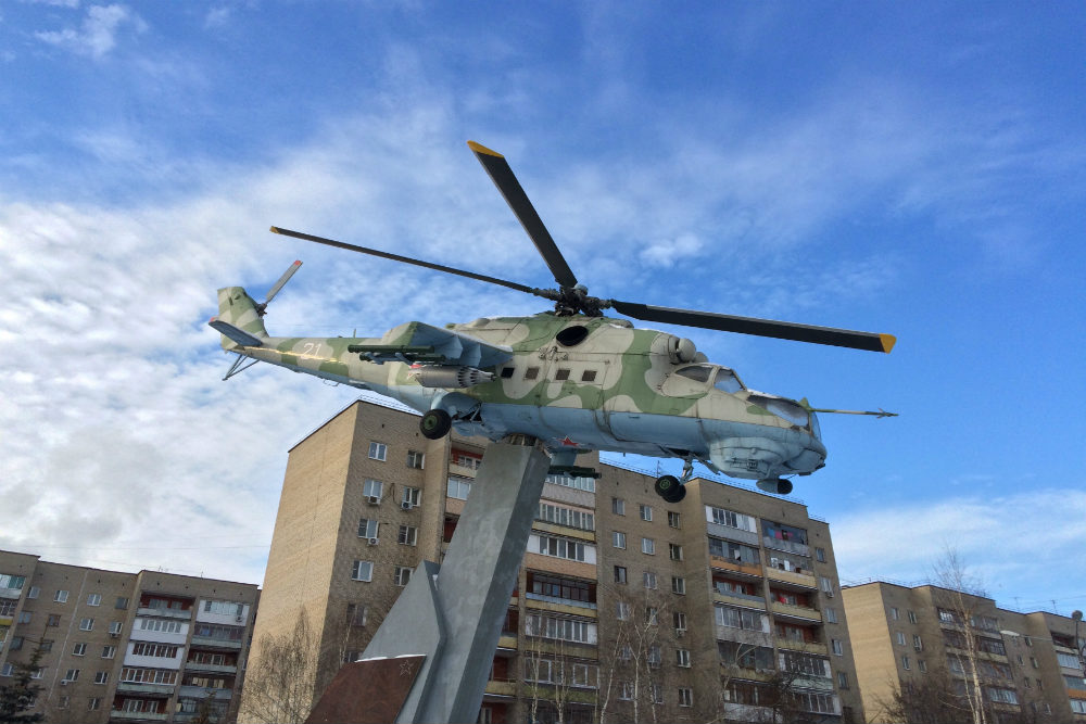 Monument Helikopter Mi-24