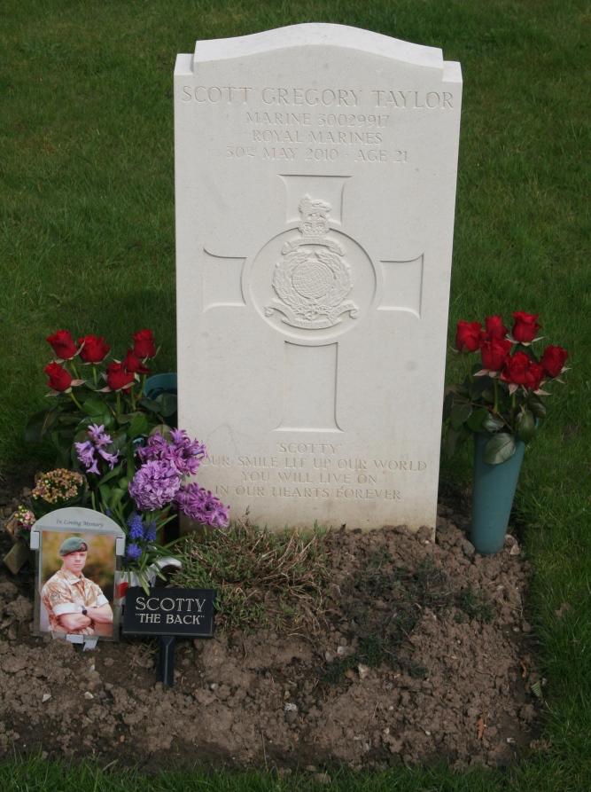 Brits Oorlogsgraf Buxton Cemetery