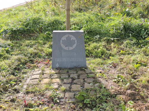 Marker No. 5 Canadian Liberation Route