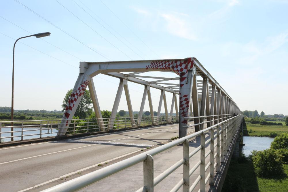 Locatie Voormalige Spoorbrug Maas