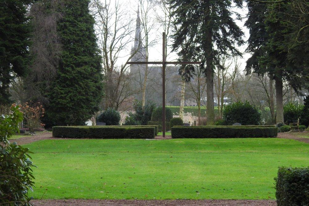 Nederlands Oorlogsgraf Protestantse Begraafplaats Bieberg Breda