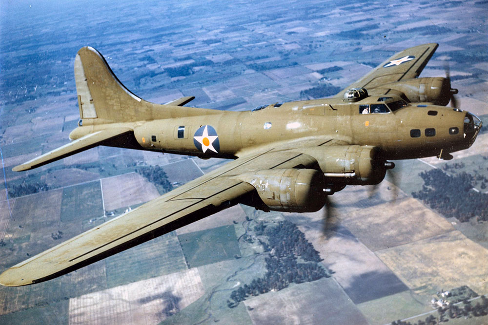 Crashlocatie B-17 Flying Fortress 42-12485