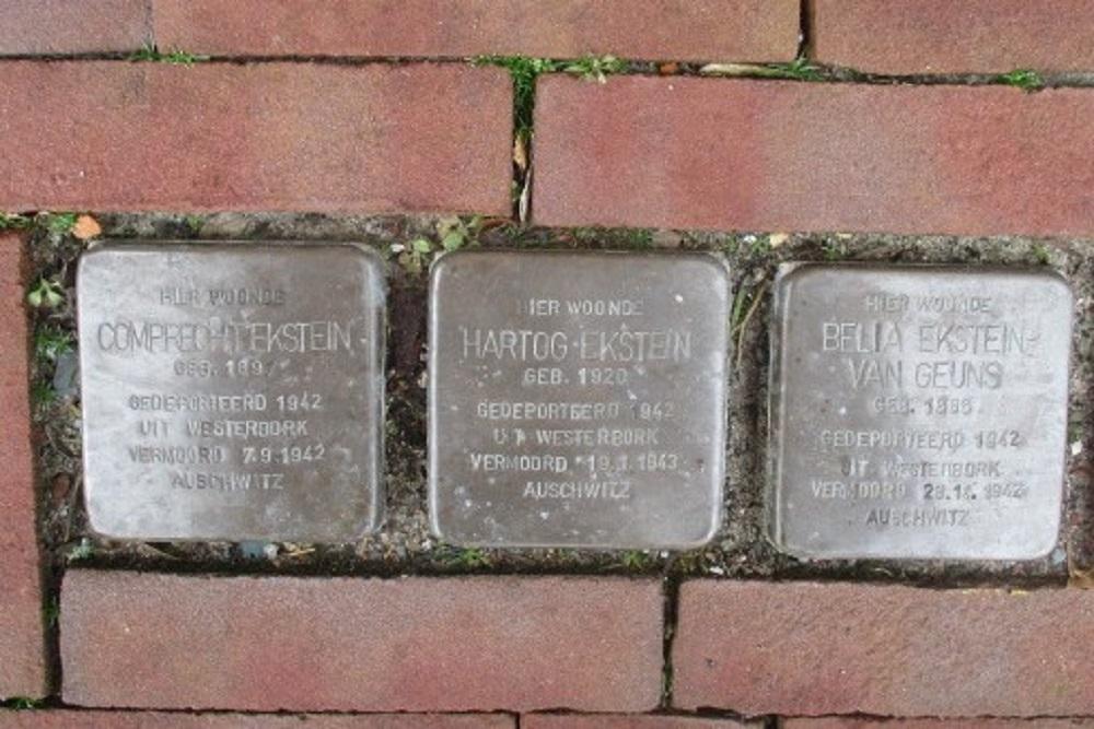 Stolpersteine Heerestraat 5