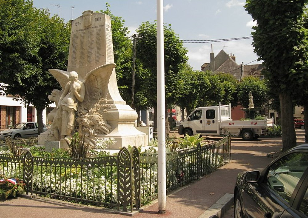 Oorlogsmonument Montreuil