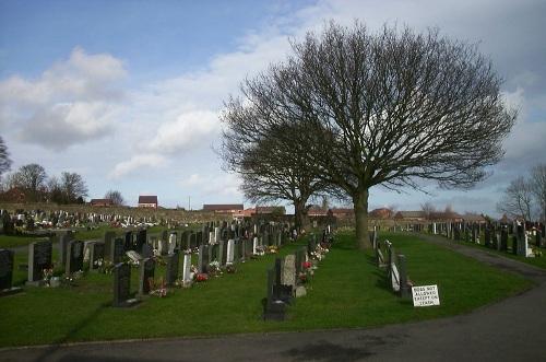 Commonwealth War Graves Rhosllanerchrugog Cemetery