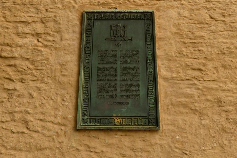Monument Victims Lehrerschaft Groß-Bielefeld
