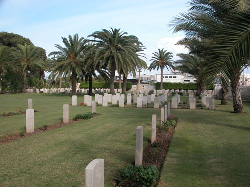 Commonwealth War Cemetery Haifa