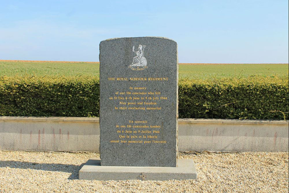 Monument 1st Battalion, The Royal Norfolk Regiment