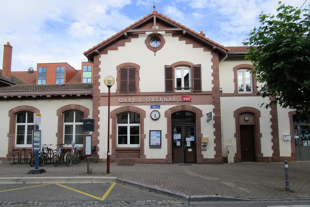 Plaquette station Obernai