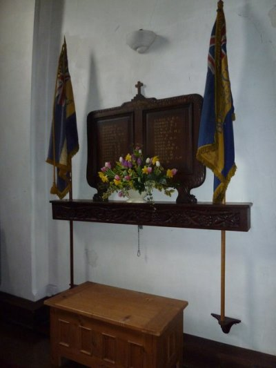 World War I Memorial St. Faith Church