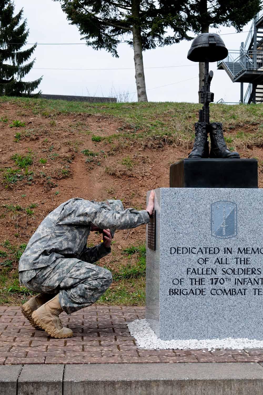 Monument 170th Infantry Brigade Combat Team