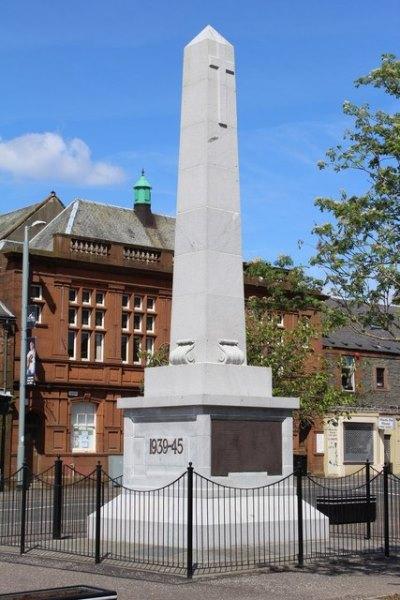 War Memorial Darvel