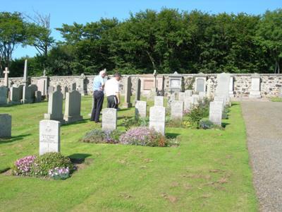Commonwealth War Graves Banff Cemetery