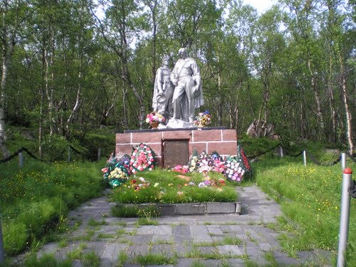 Mass Grave Soviet Marines & Soldiers Liinakhamari