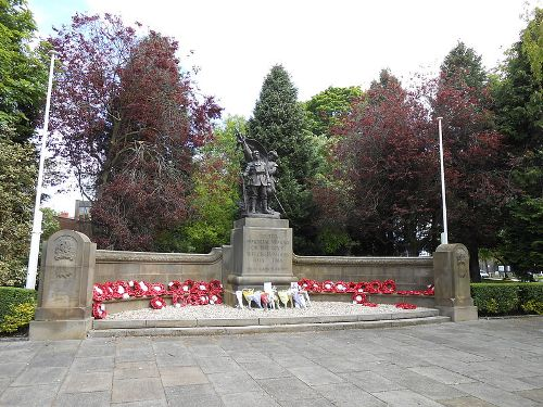 War Memorial Royal Welch Fusiliers
