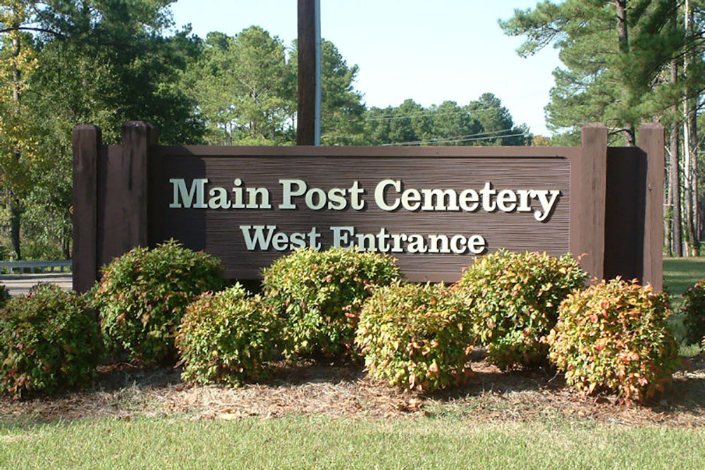 American War Graves Fort Bragg Main Post Cemetery
