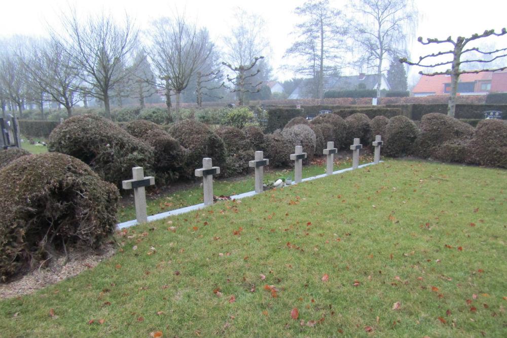 Belgische Oorlogsgraven Brasschaat