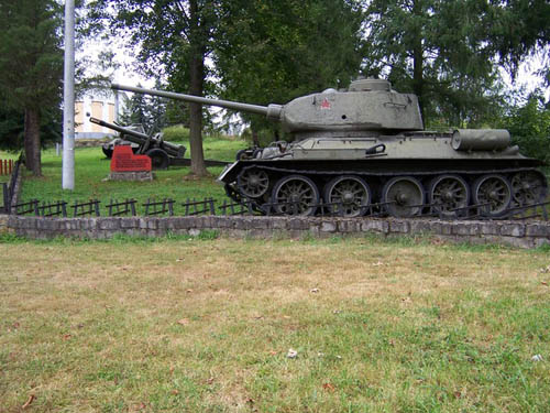 Memorial 12th Guards Tank Brigade Nizna Pisana