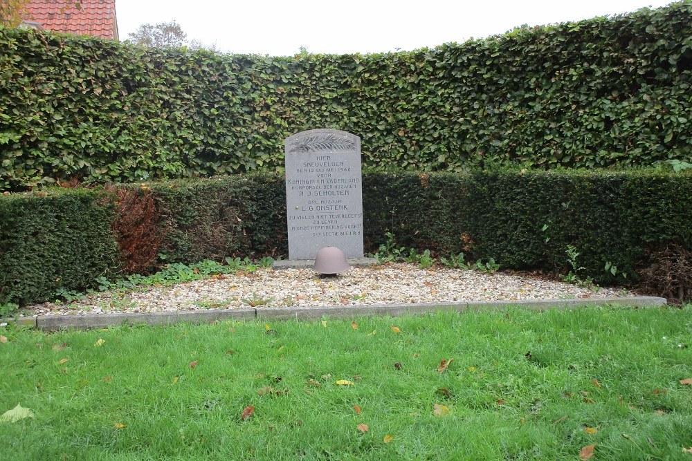 Monument Gesneuvelde Militairen Nijkerk