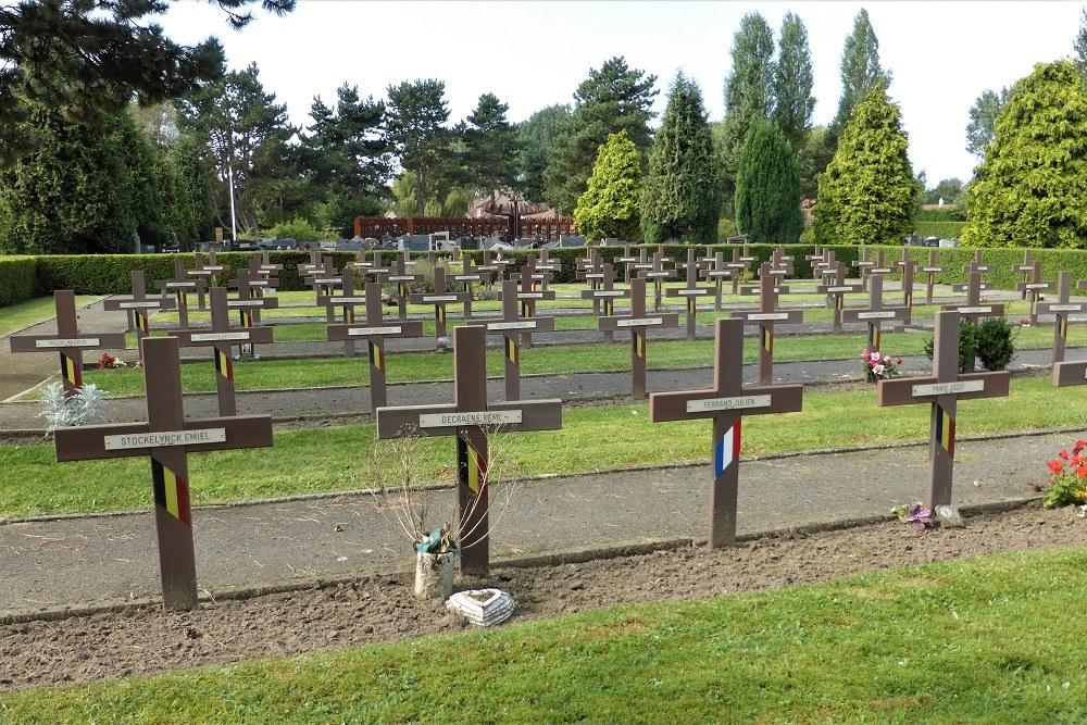Belgische Oorlogsgraven Oostduinkerke