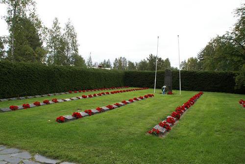 Finse Oorlogsgraven Pyhäntä
