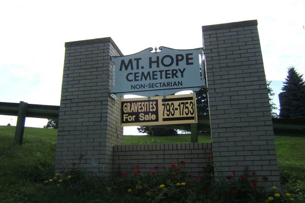 Amerikaanse Oorlogsgraven Mount Hope Cemetery