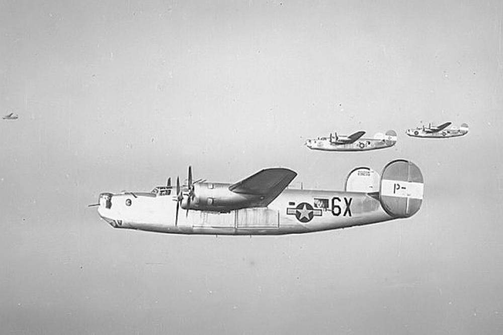 Crash Site B-24H 41-28615