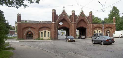 Festung Königsberg - Brandenburger Tor (Königsberg)