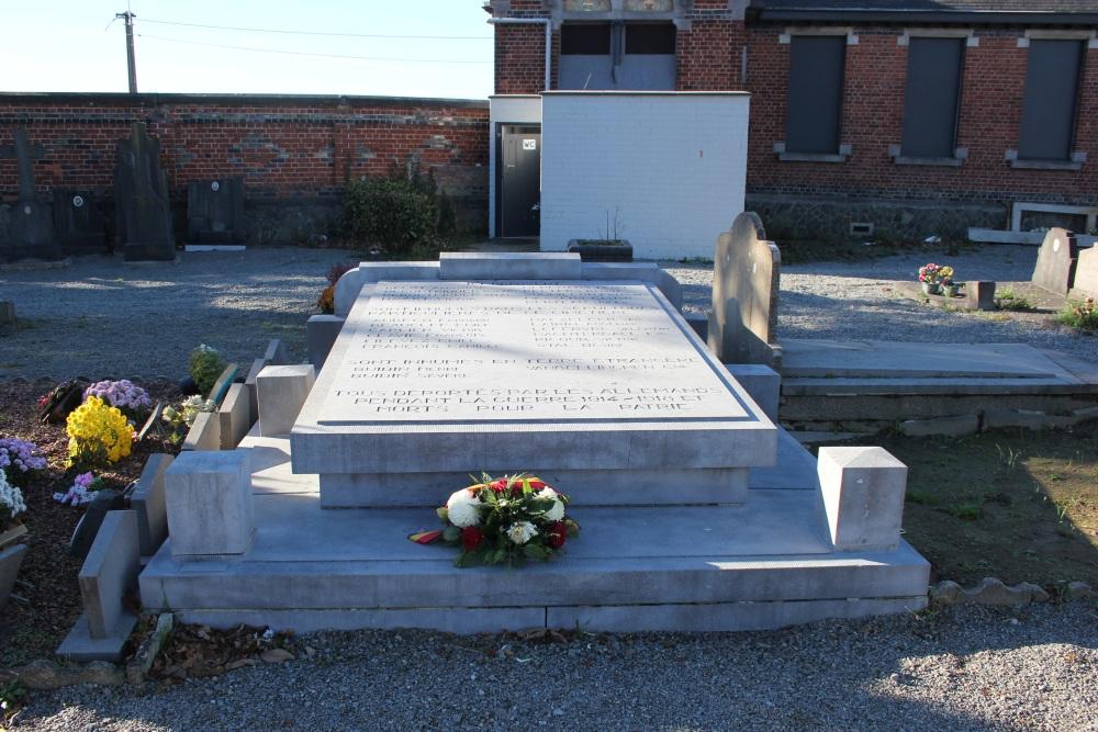 Memorial Deportees First World War Quenast
