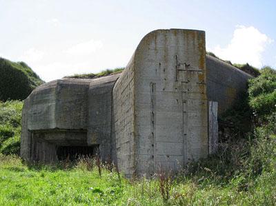 Atlantikwall - Widerstandsnest (W.N) Südhafen