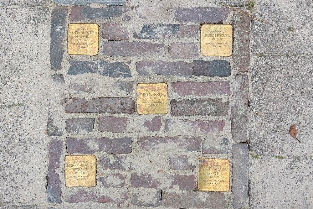 Stolpersteine Woltersweg 82