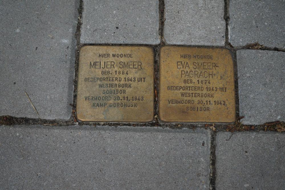 Stolpersteine Burgemeester van de Borchstraat 12