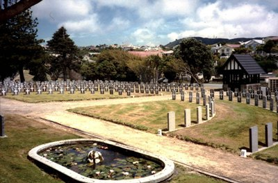 Commonwealth War Graves Karori Cemetery