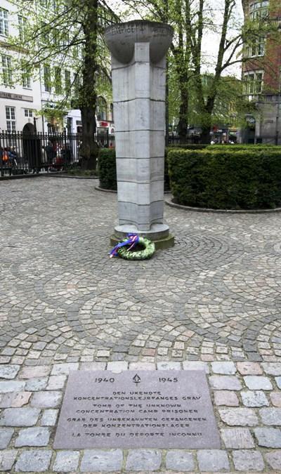 Memorial Unknown Concentration Camp Prisoner