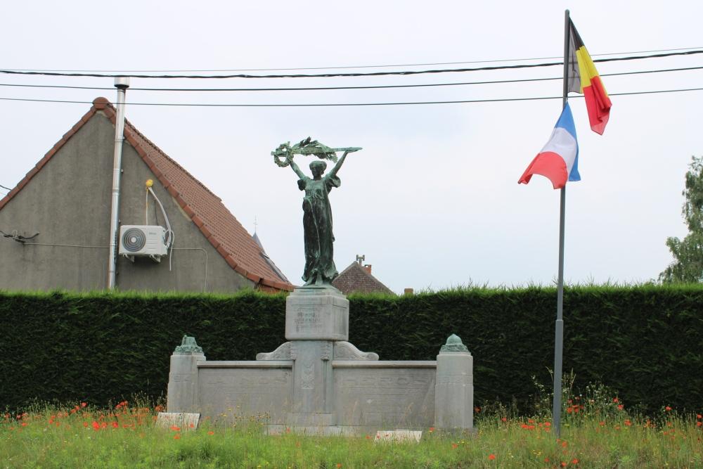 War Memorial Roucourt
